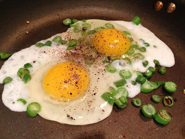 Eggs-greenbeans