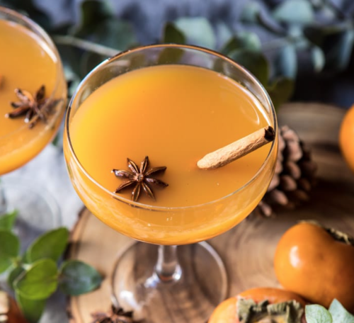 Salsa-persimmon-bourbon-cocktail